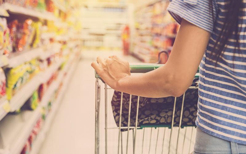 supermarkt verleiding