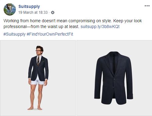 Suitsupply zorgt voor je bovenste helft